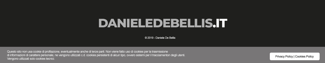 danieledebellis.it